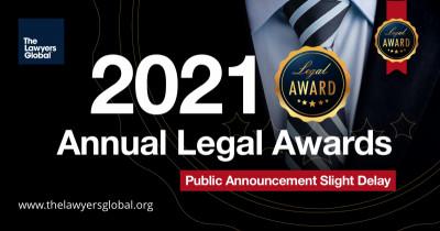 2021 Annual Global Legal Awards announcement – Slight delay