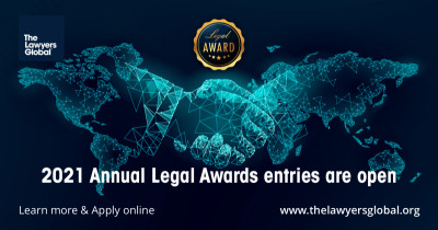 Registrations for the 2021 Annual Legal Awards are now open