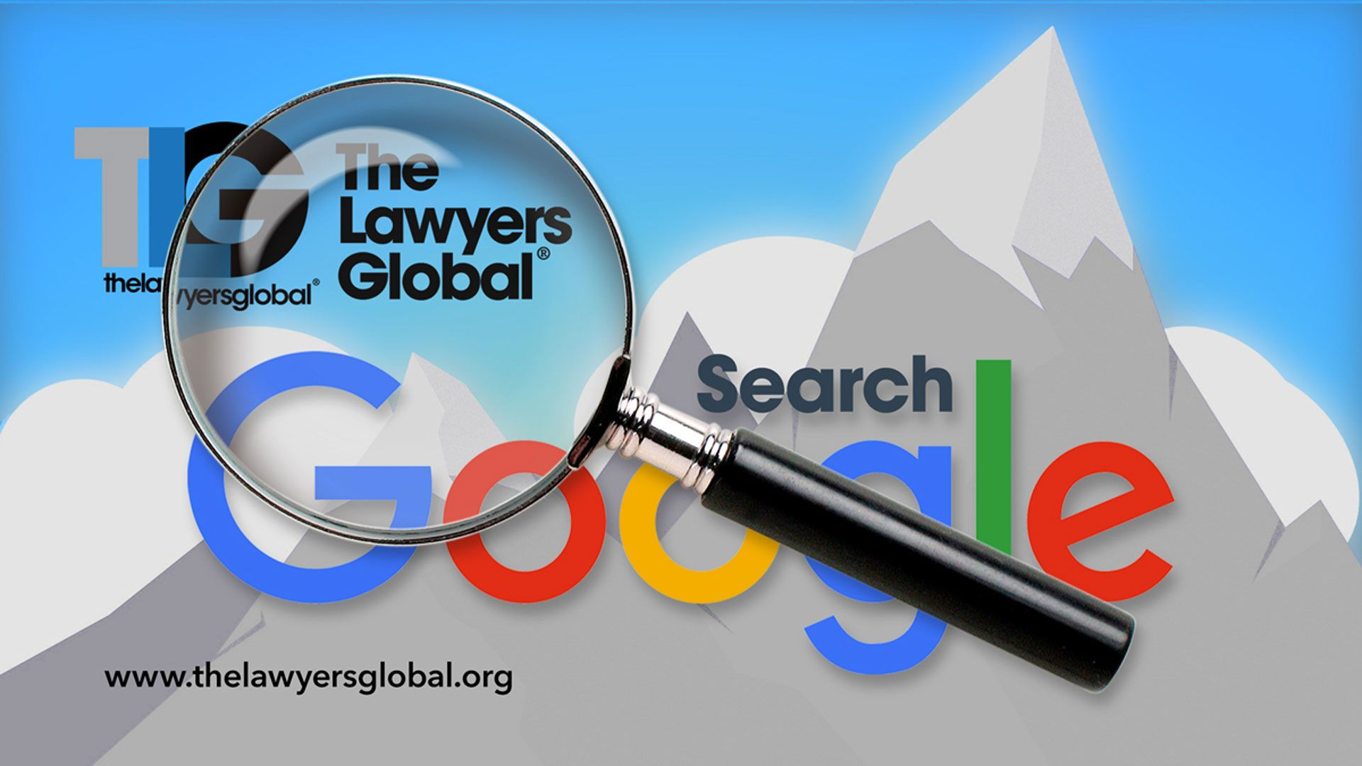 The Lawyers Global on top of Google Search