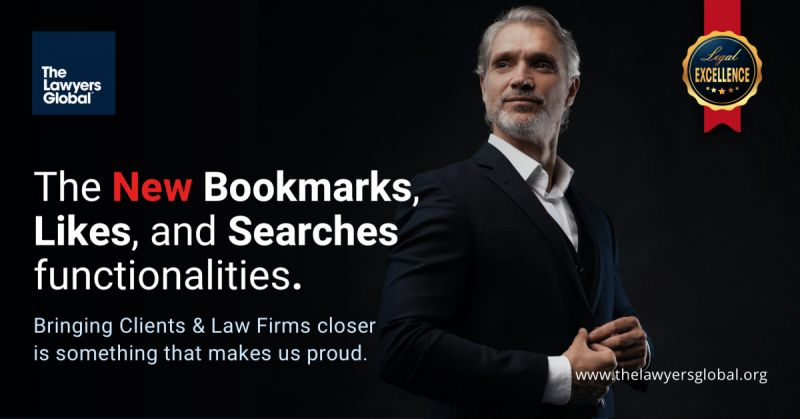 New Bookmarks, Likes, and Searches functionalities