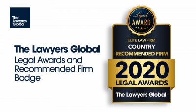 The Lawyers Global Country Awards 2018 Bagde