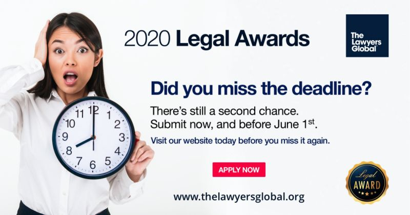 Did you miss the 2020 Annual Legal Awards deadline?