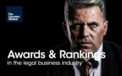 Awards & Rankings in the legal business industry