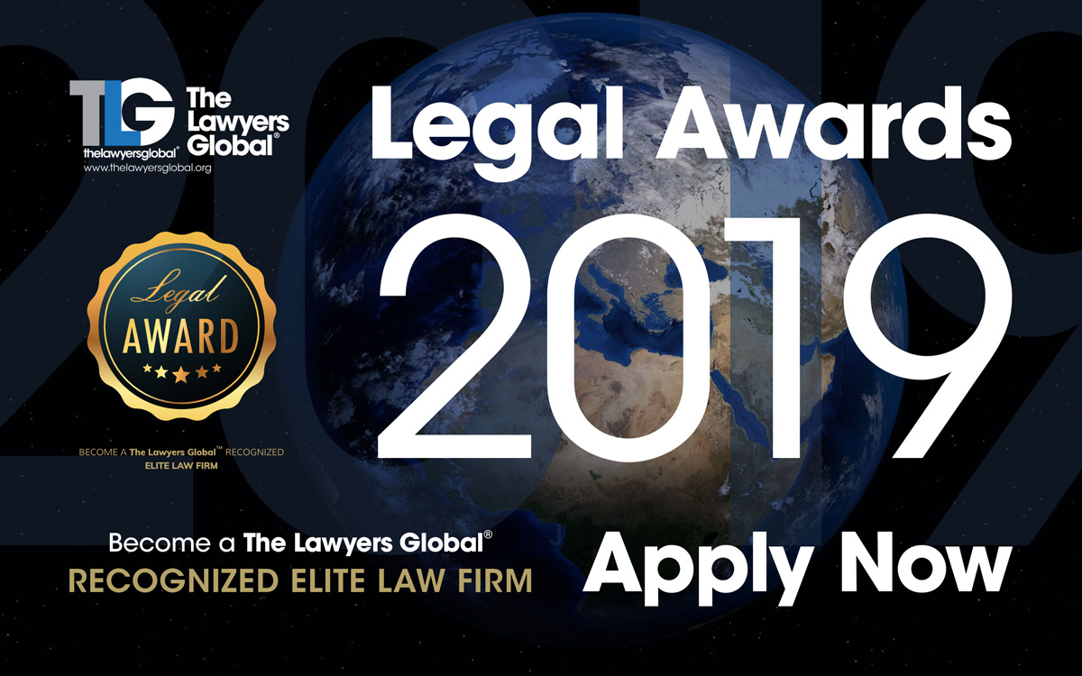 2019 Global Legal Awards - Apply here