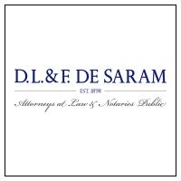 DL&F de Saram logo