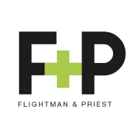 Flightman & Priest logo